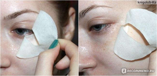 Маска для кожи вокруг глаз Bioaqua Golden Osmanthus Eye Mask с золотым османтусом  фото