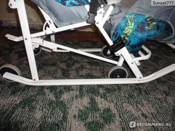 Санки - коляска Меридиан-гибрид фото