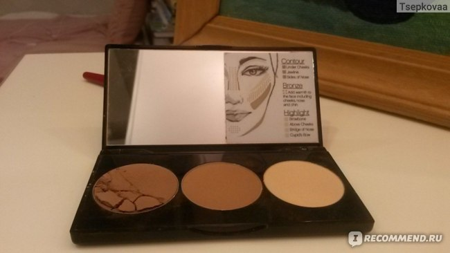 Скульптор Smashbox Step-by-step countour kit фото