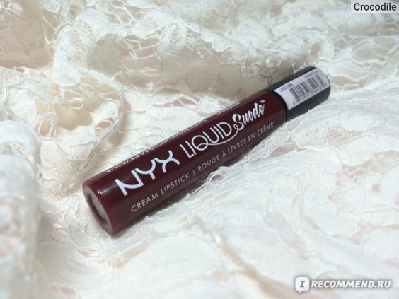 Жидкая губная помада NYX Liquid Suede Cream Lipstick фото