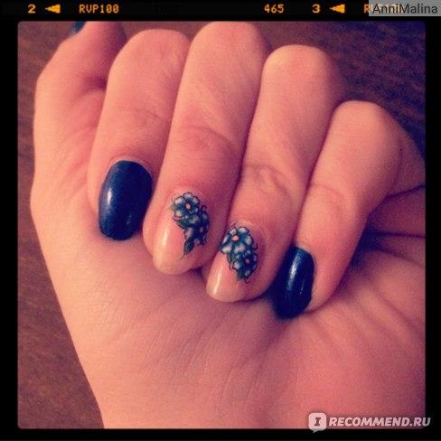 Наклейки для ногтей Aliexpress Наклейки-слайдеры sheets water transfer DIY decals, Purple flowers watermark nail sticker tattoo decoration tools for Polish фото
