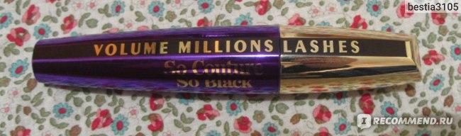 Тушь для ресниц L'Oreal Paris Volume Million Lashes SO COUTURE фото
