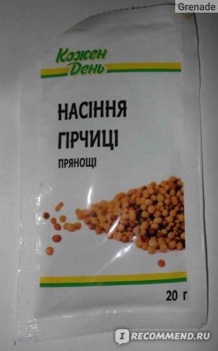 Специи Каждый день Семена горчицы пряности фото
