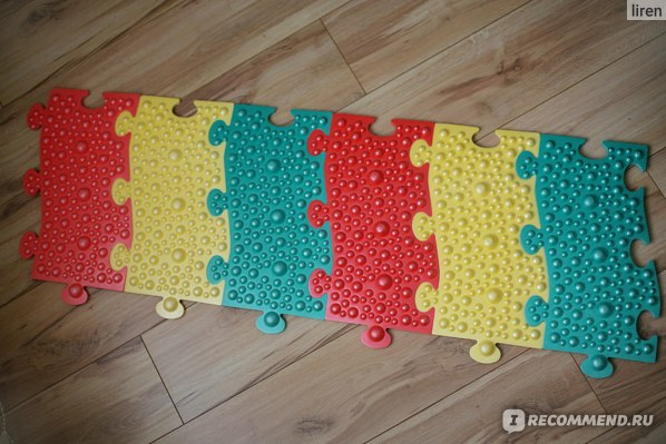 Массажный коврик   для лечения плоскостопия Комф-орт К 811 фото
