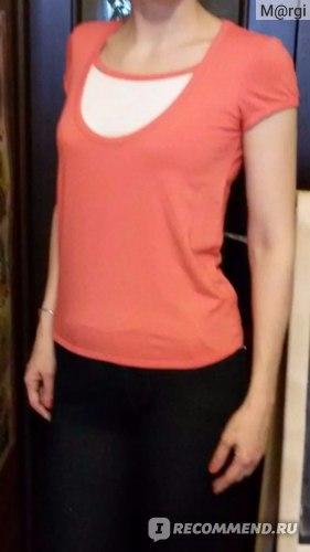 Одежда для кормящей мамы ЮЛА МАМА Футболка для кормления Larisa фото