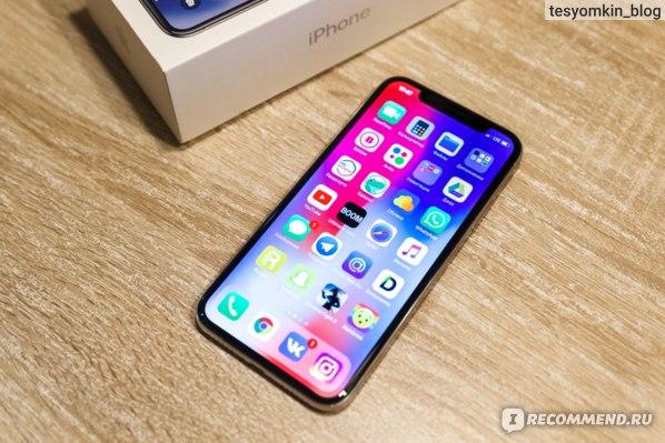 Apple iPhone X отзыв