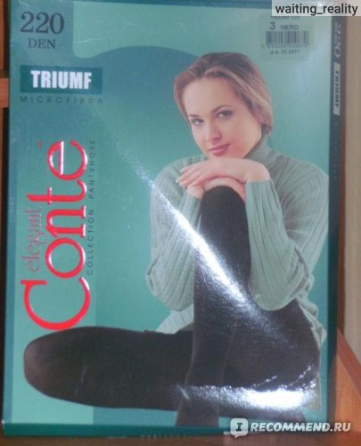 Колготки Conte плотные ''TRIUMF'' фото
