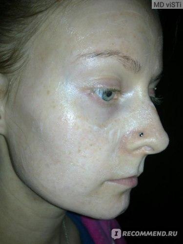 Маска для лица Зелёная планета Интенсивно увлажняющая лифтинг антиоксидантная для лица, шеи и декольте фото