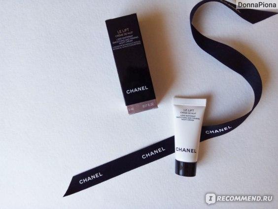 Крем для лица ночной Chanel LE LIFT lisse-raffermit smoothing and firming night cream  фото