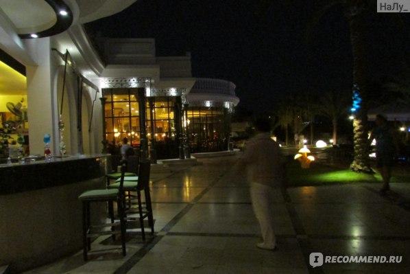 Вид на ресторан и бар