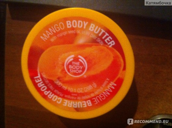 Масло для тела The body shop Манго фото