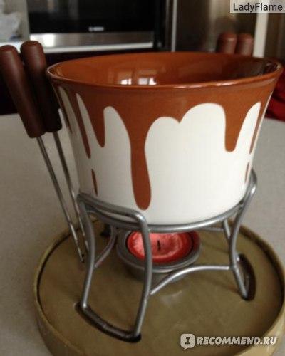Набор посуды Kaiserhoff Набор для шоколадного фондю фото