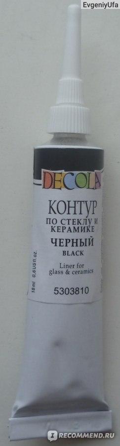 """Контуры для стекла и керамики """"Decola""""  фото"""