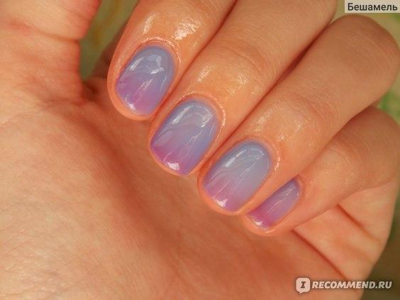 Гель-лак для ногтей Shellac Bluesky ТЕРМО фото