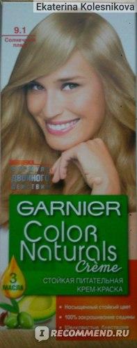 """Краска для волос Garnier Color naturals """"Глубокое питание, насыщенный цвет"""" фото"""