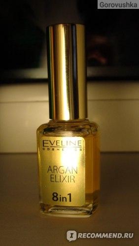 Масло для ногтей Eveline Argan elixir фото