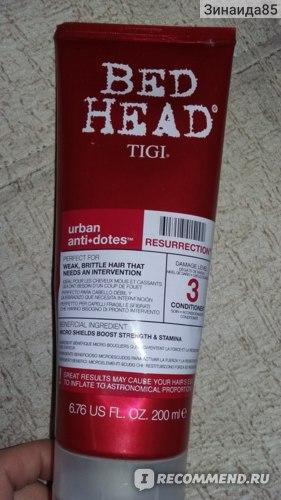 Бальзам для волос TIGI Urban Anti+dotes Resurrection  фото