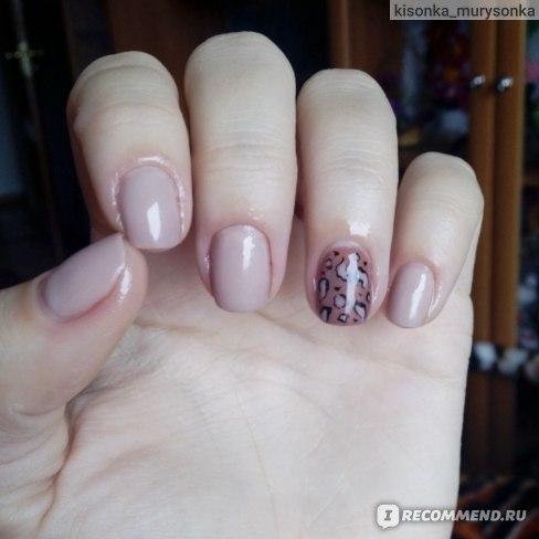 Масло на ногтях