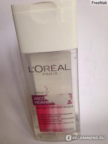 "Мицеллярная вода L'Oreal Paris ""Абсолютная нежность"" / Paris Skin Perfection 3-in-1 Purifying Micellar Solution фото"