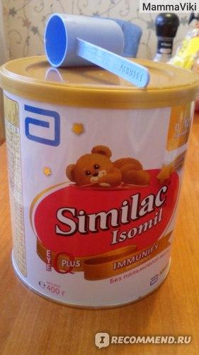 Детская молочная смесь Similac Isomil фото