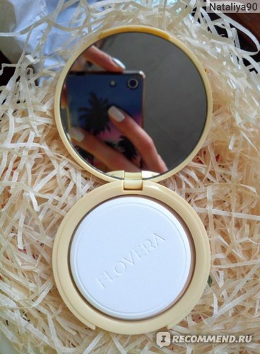 Компактная пудра Flovera 2 в 1 фото