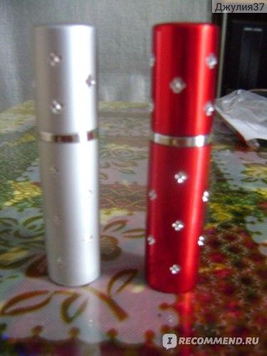 Пульверизатор для духов Aliexpress 1PC 5ml Amazing travel perfume atomizer refillable spray empty perfume bottle easy used aluminum glass mini scent bottle New фото