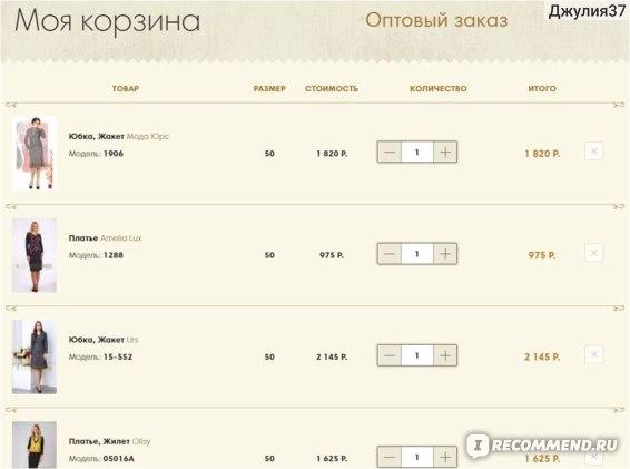 """Сайт интернет магазин """"Модная лавка"""" фото"""