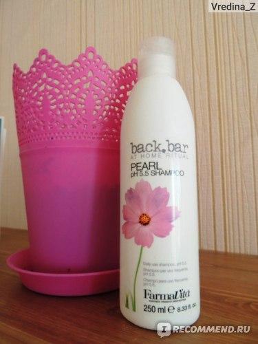Шампунь FarmaVita  Back bar pearl shampoo фото