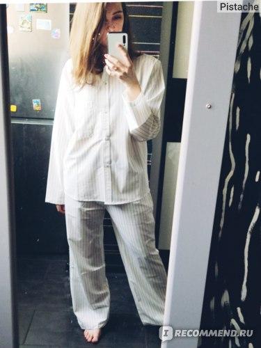 Белая пижама Алиэкспресс отзывы