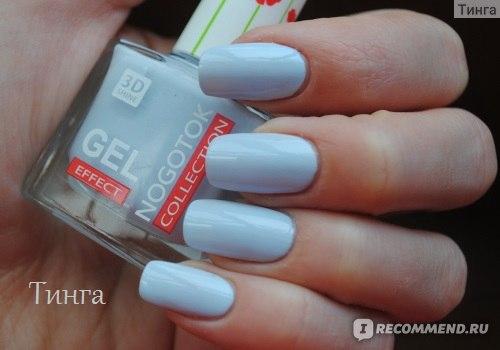 Лак для ногтей Ноготок Fresh summer gel effect фото