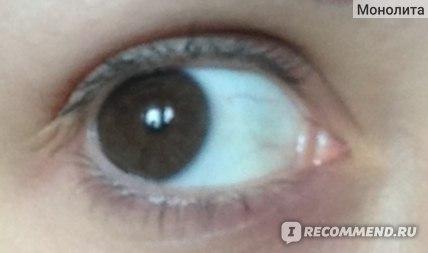 глаз без туши