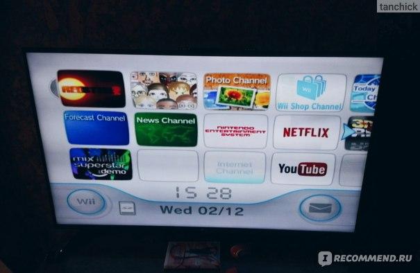 Nintendo Wii приставка фото