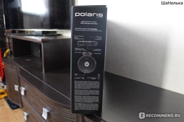 Робот-пылесос Polaris PVCR 1090 Space Sense Aqua фото