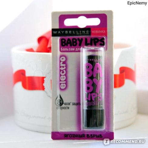 Бальзам для губ Maybelline Baby Lips Electro Lip Balm фото