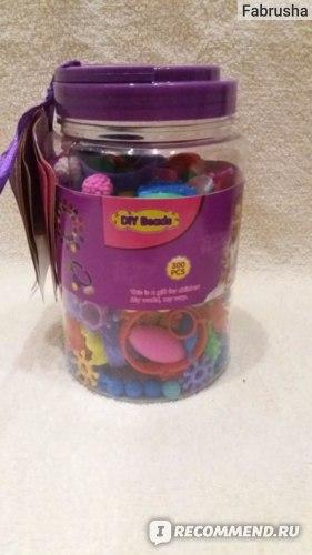 Конструктор Diy-Arty Украшения для девочек 300pcs Diy Beads 3+ фото