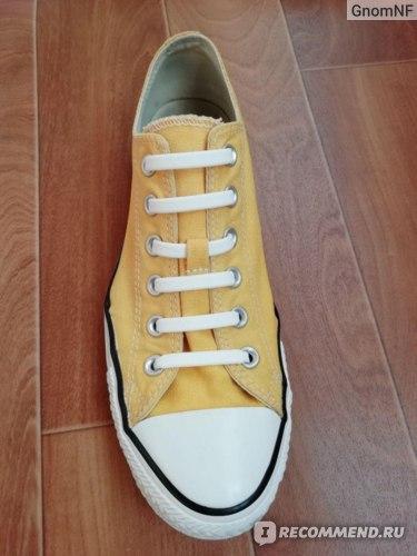 Силиконовые шнурки TERRITORY для обуви фото