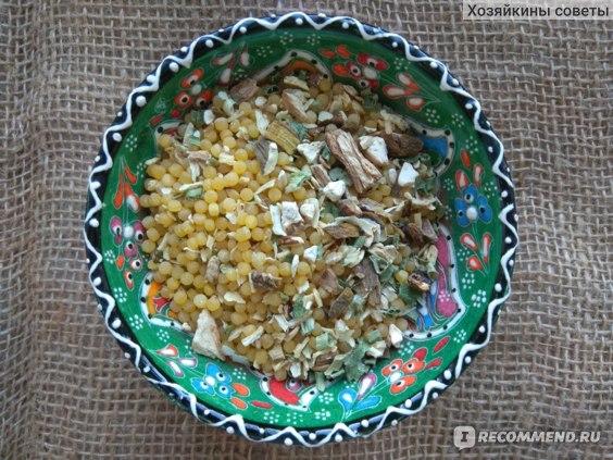 суп Yelli с белыми грибами и пастой отзывы