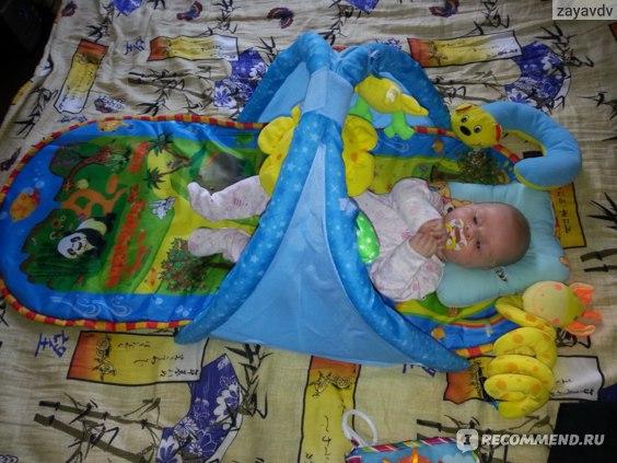 Музыкальный развивающий коврик Aliexpress educational baby carpet mat baby toys for 0-12 months фото