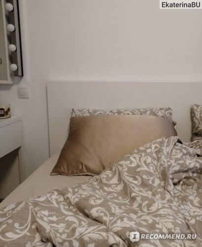 Шелковая наволочка для сна