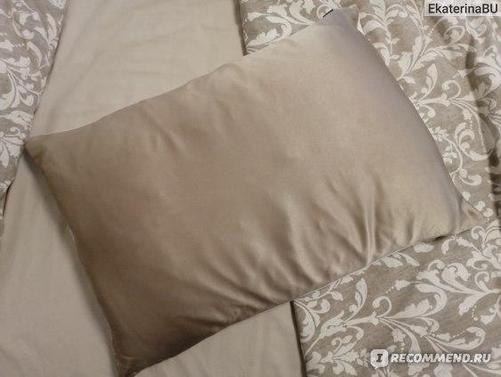 Шелковая наволочка для подушки