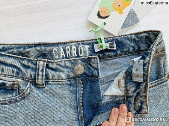 Джинсы Sela Carrot Fit Артикул 1803051406 фото