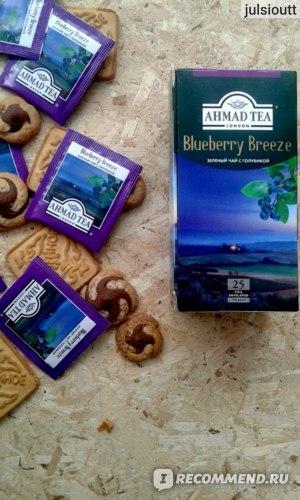 Чай зеленый AHMAD Blueberry Breeze фото