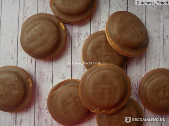 Печенье Milka Choco Jaffa chocolate flavoured mousse фото
