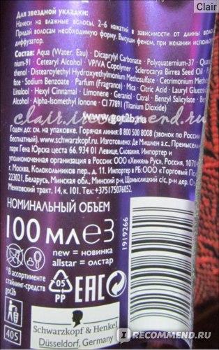 Крем для укладки волос Schwarzkopf Got2b All Star 10в1 фото