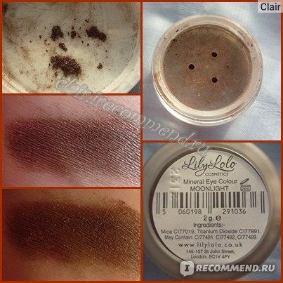 Тени для век  Lily Lolo  Mineral Eye Colour  фото