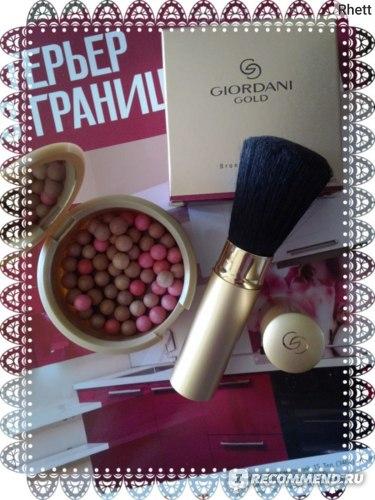 Кисть для пудры и румян Oriflame Giordani Gold фото