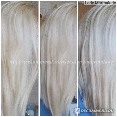 ДО - кукольный слишком яркий блонд