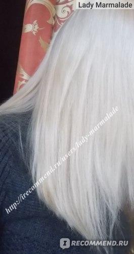 Оттеночный серебристый шампунь Indola для блондинок