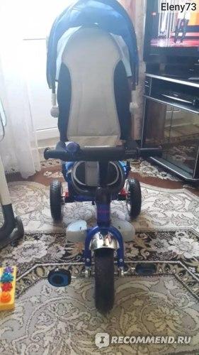 Велосипед Capella action trike с родительской ручкой фото