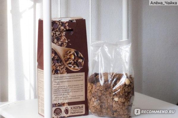 Мюсли ВкусВилл / Избёнка запечённые шоколадные фото